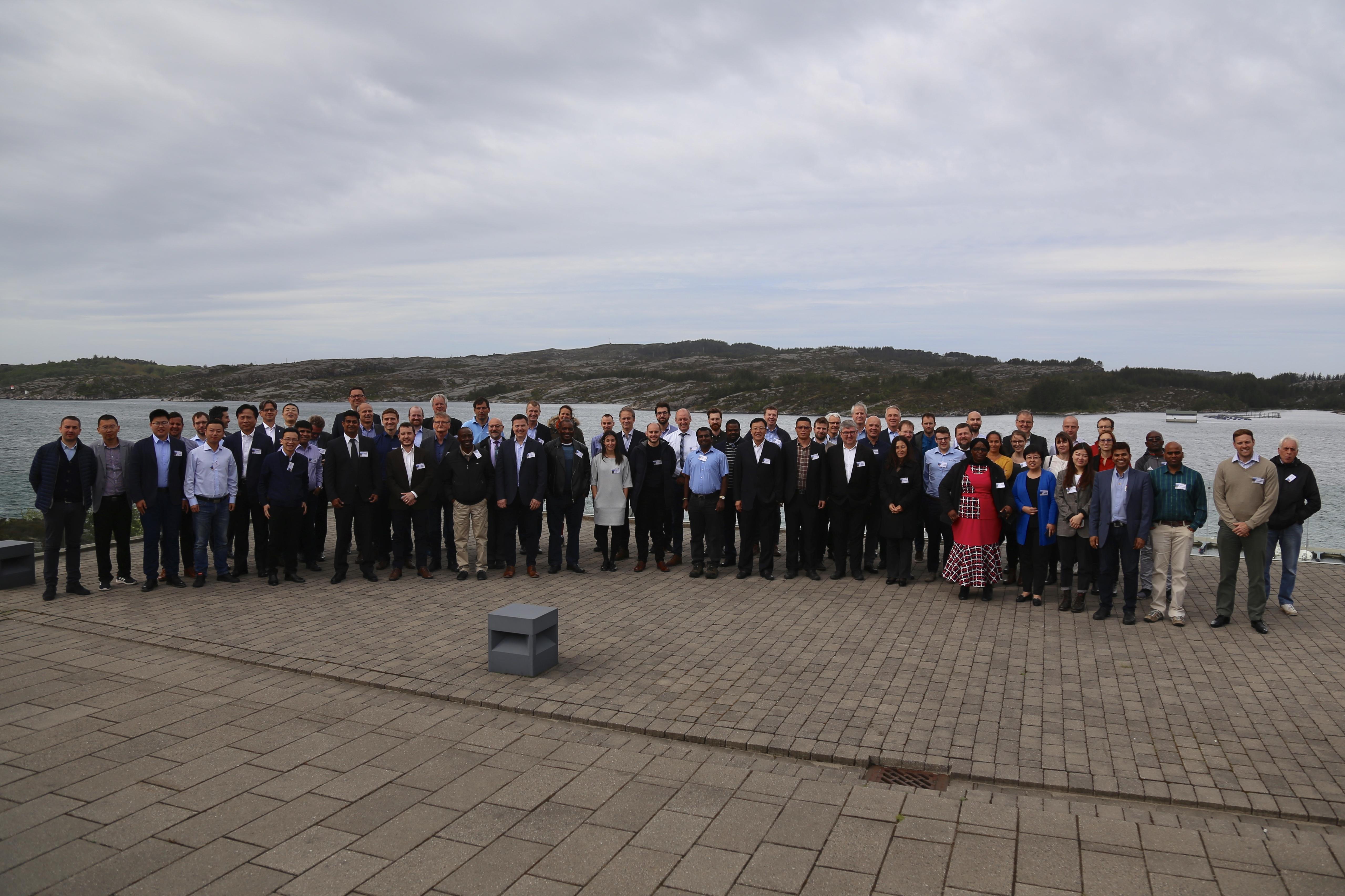 Para peserta Konferensi Keselamatan dan Teknologi Gexcon 2019.