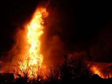 Industrial fire