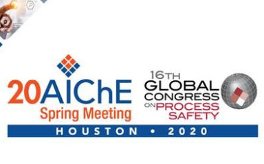 Gexcon to Present at the 2020 AIChE Spring Meeting and 16th Global Conference on Process Safety