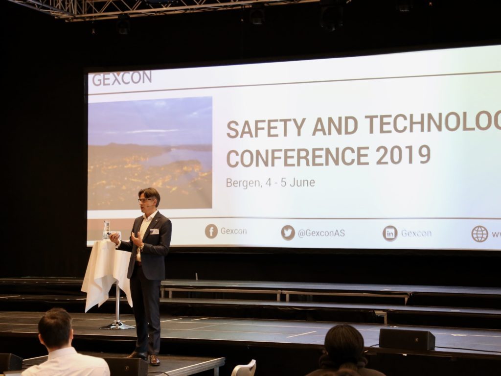 Presentation by Bernt Skeie at Gexcon Safety and Technology Conference 2019