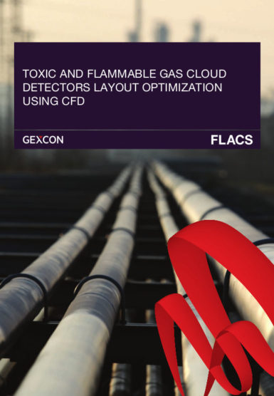 TOXIC AND FLAMMABLE GAS CLOUD DETECTORS LAYOUT OPTIMIZATION USING CFD