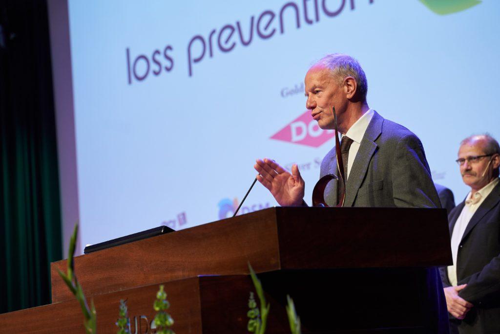 A speech by Dr. Kees van Wingerden after he received the EPSC award