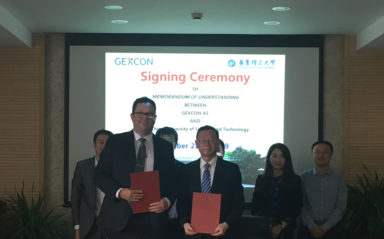 Gexcon Signed an MoU with East China University of Science and Technology