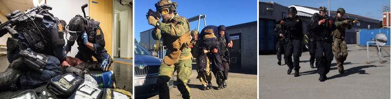 First response missions – training at Gexcon facilities near Bergen, Norway