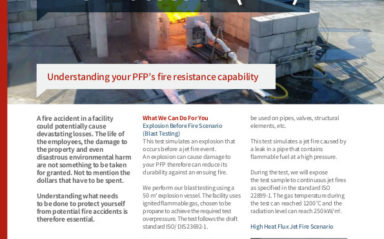 Testing of Passive Fire Protection (PFP)