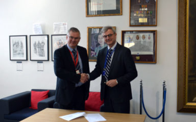 Gexcon and UK Fire Service College Signed an MoU