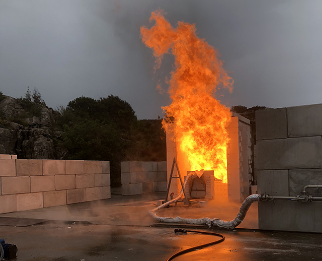 Gexcon has Now The Capability of Conducting Jet Fire Test for Passive Fire Protection
