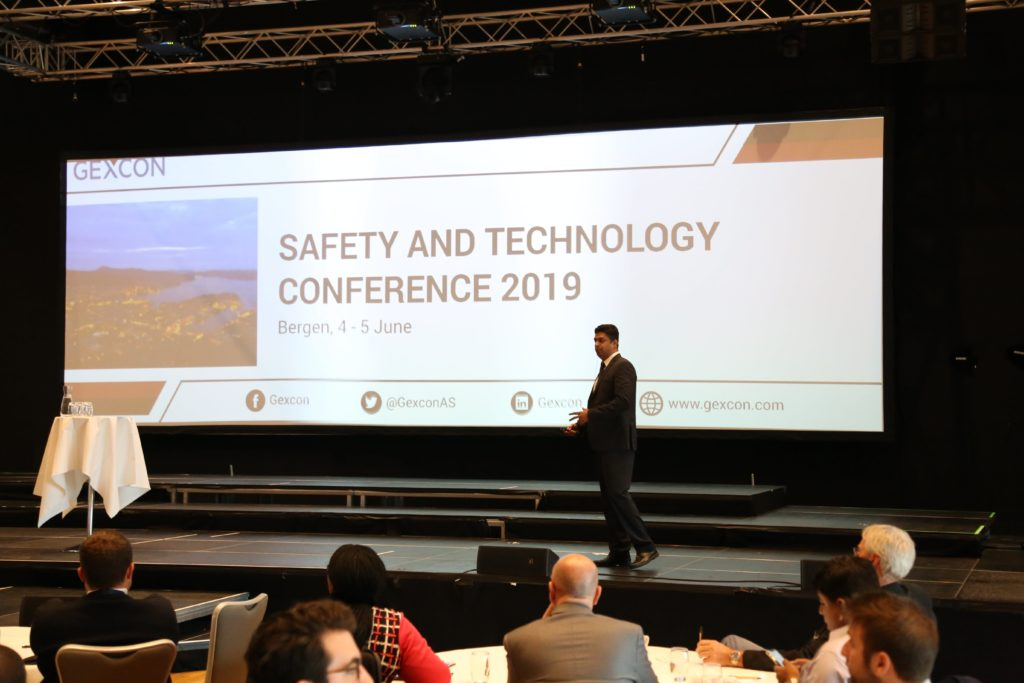 Presentation by Santhosh Kumar at Gexcon Safety and Technology Conference 2019