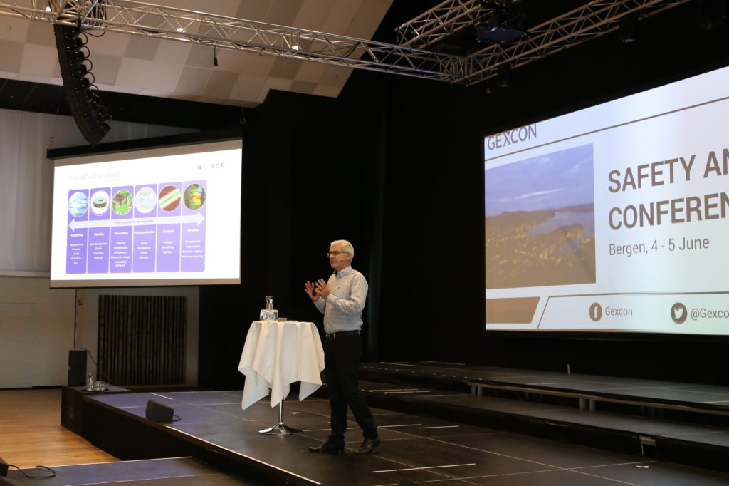Presentation by Ingvar Henne at Gexcon Safety and Technology Conference 2019