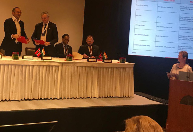 Gexcon Announces Three MoUs in India