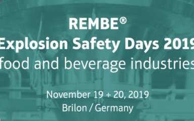 Gexcon to Present at REMBE's explosion safety days in China and Germany