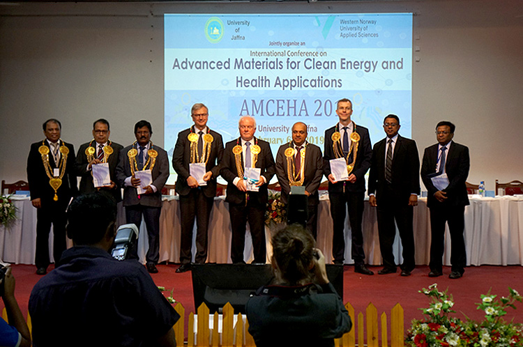 Gexcon signed an MoU with the University of Jaffna