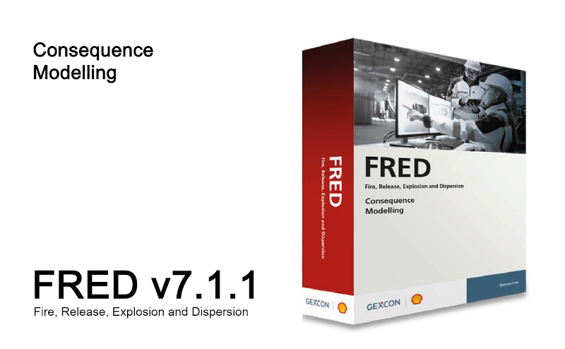 Gexcon and Shell are pleased to announce the release of FRED v7.1.1