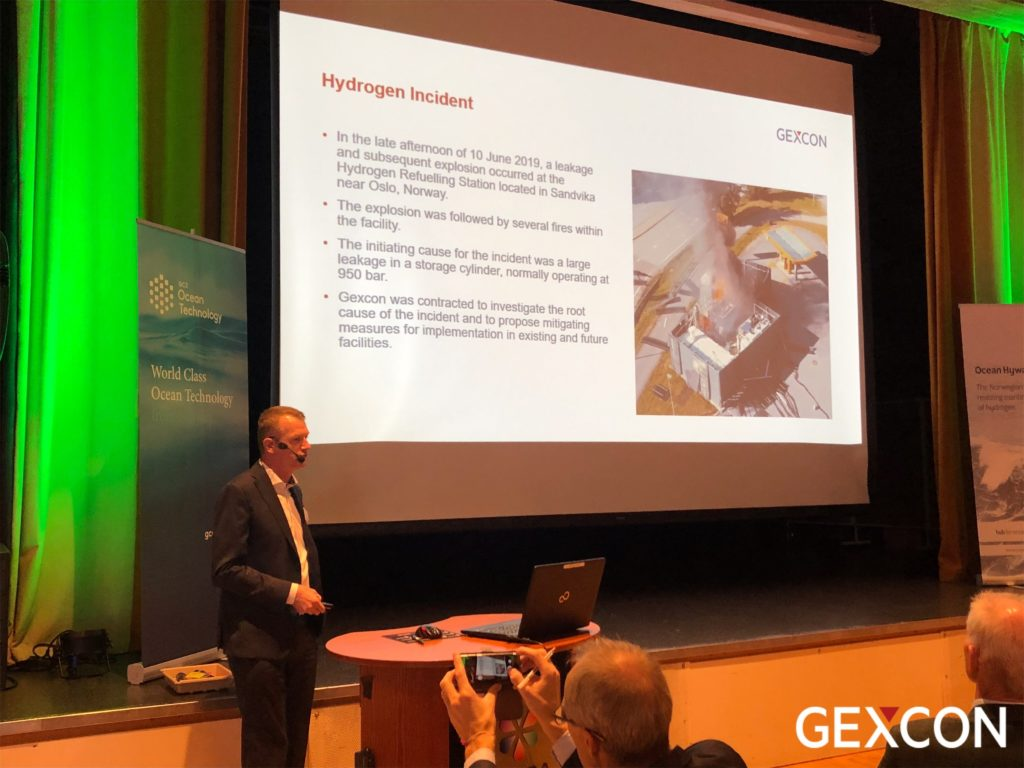 Geirmund presented at the 4th Annual Conference of Maritime Hydrogen and Marine Energy