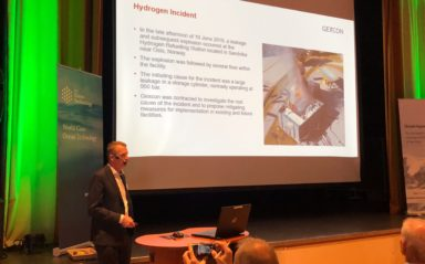Gexcon Delivered a Presentation at the 4th Annual Conference of Maritime Hydrogen and Marine Energy