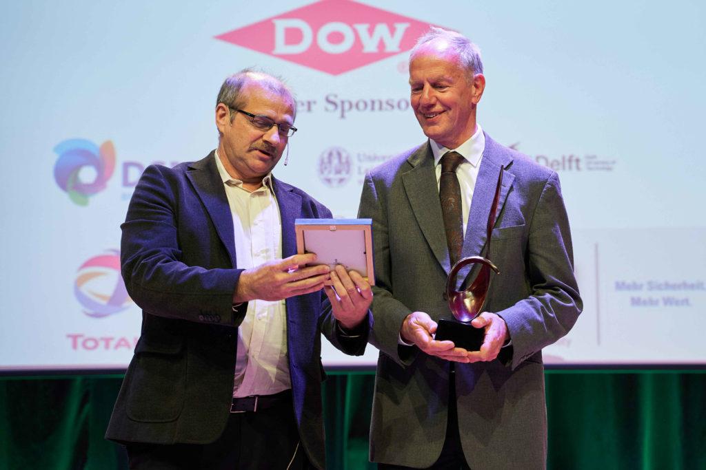 Kees van Wingerden receiving the 2019 EPSC Award
