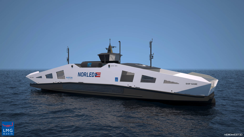 Liquid Hydrogen Ferry developed by Norled. (Photo credit: Norled AS). Gexcon is Involved in the Development of Liquid Hydrogen Supply Chain for Maritime Applications in Norway.