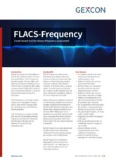 FLACS-Frequency, a risk assessment tool from Gexcon.
