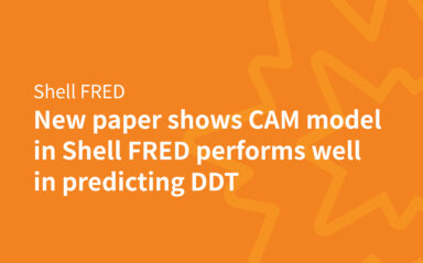 New Paper shows CAM Model in Shell FRED performs well in predicting DDT