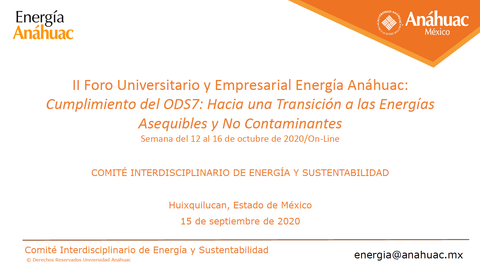 Gexcon to Present at Anáhuac University Mexico's Business and Energy Forum 2020
