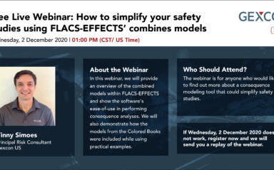 Webinar: How to Simplify your Safety Studies Using FLACS-EFFECTS' Combined Models