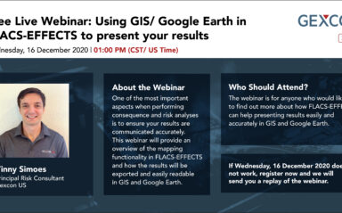 Webinar: Using GIS/ Google Earth in FLACS-EFFECTS to Present Your Results