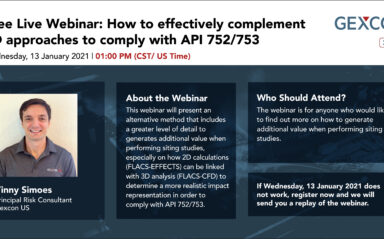 Webinar: How to effectively complement 2D approaches to comply with API 752/753