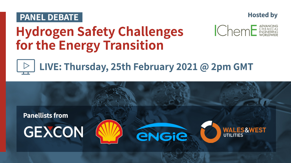 Join the hydrogen safety challenges discussion with industry experts