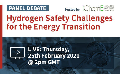 Panel Debate: Hydrogen Safety Challenges for the Energy Transition
