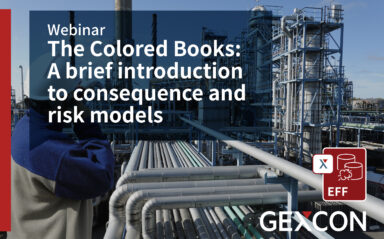 Webinar: The Colored Books: A brief introduction to consequence and risk models