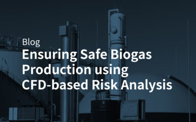 Ensuring Safe Biogas Production using CFD-based Risk Analysis