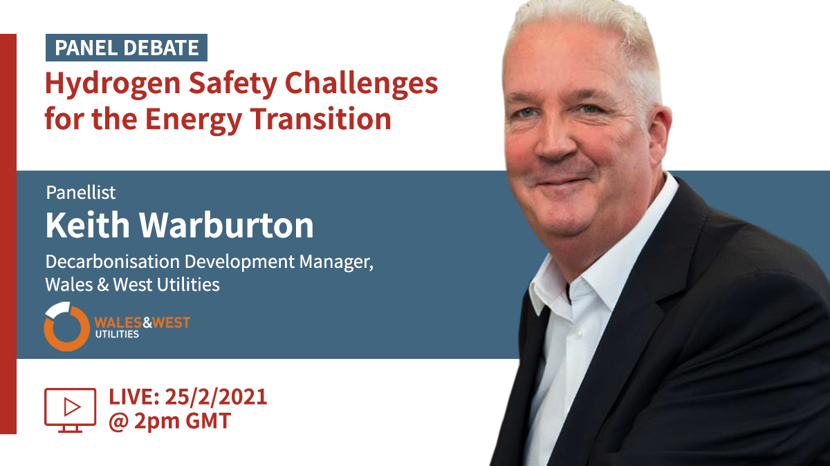 Hydrogen Industry Standards - Interview with keith warburton, panellist of Gexcon's Hydrogen Safety Challenges for the Energy Transition Panel Debate